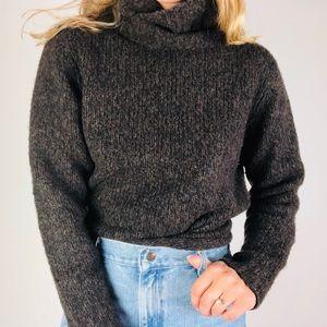EILEEN FISHER  Wool Turtleneck Chunky Sweater M